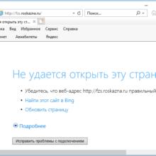 fzs.roskazna.ru не открывается – решение